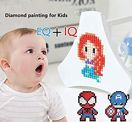 Diamond Painting DIY Sticker Paint with Diamonds Kits Arts Crafts Kits for Children and Beginner Adults