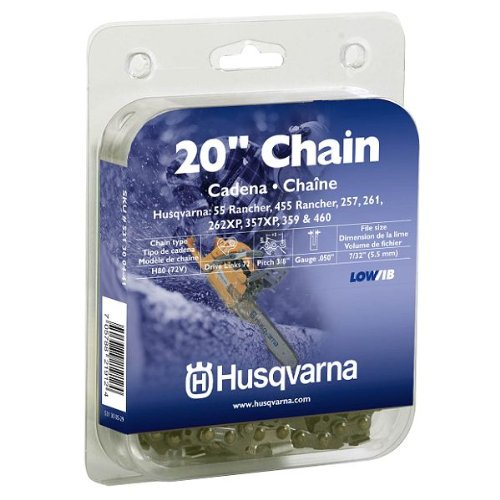 (Husqvarna 531300441 20-Inch H80-72 (72V) Saw Chain, 3/8-Inch by .050-Inch)