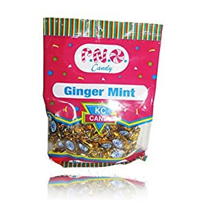 Kc Ginger Mint 100g, 3.52oz , Experience the Benefits of Ginger ,Made in Trinidad & Tobago