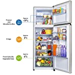 Panasonic 336 L 3 Star 6-Stage Inverter Frost-Free Double Door Refrigerator (NR-MBG34VSS3, Shining Silver, Jumbo…