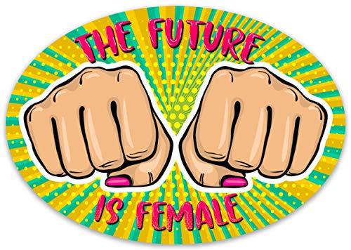 The Future is Female Vinyl Sticker Decal for Laptops Water Bottles Car Girl Power Feminist Feminism