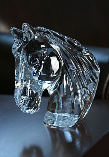 Waterford Crystal - ANIMAL KINGDOM COLLECTION - HORSE'S HEAD - NEW IN WATERFORD - In Waterford Stores