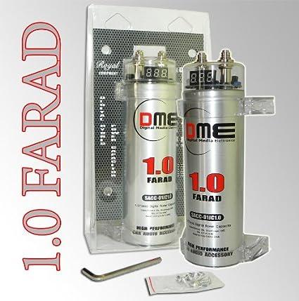 Condensatore digitale DME 1 Farad 11V 20V da amplificatore