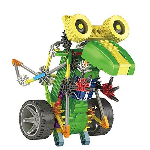 105 Pcs Robotic Motorized DIY Assemble Educational Science DIY Robot Kit Toy for Kids Children over 6 Years