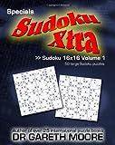 Sudoku 16x16 Volume 1, Gareth Moore, 1450594158