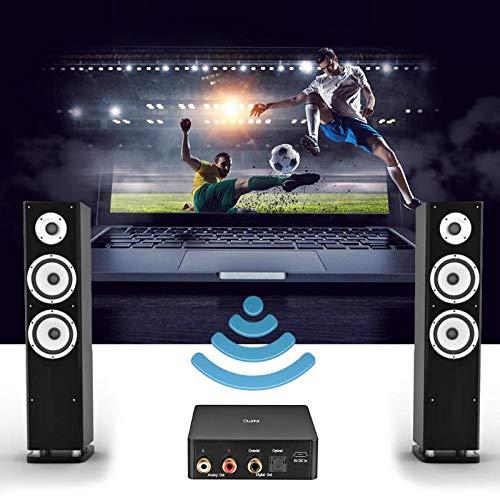 Alloyseed BLT-1 Home Theater Bluetooth Music Audio Receiver Support NFC DAC APTX RCA Optical Fiber Coaxial Signal Output