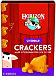 Horizon Organic Snack Crackers, Cheddar, 6.6 Ounce (Pack of 12)