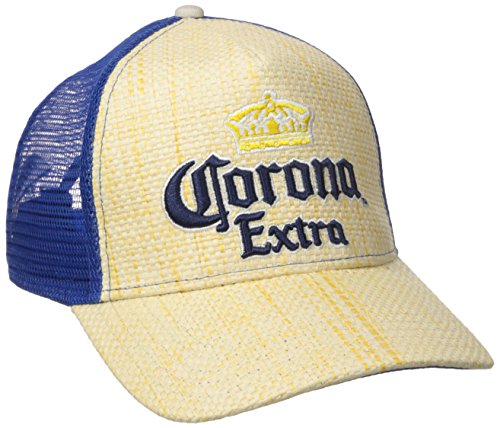 corona-mens-straw-trucker-cap-with-mesh-back-natural-one-size