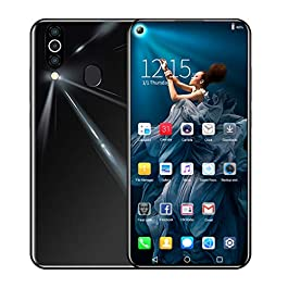 2019 New Unlocked Phone – 6.6 Inch Android 6.1 Quad-Core 2G RAM+32GB ROM Extended Memory 64G 3G Cellphone Dual HD Camera/SIM/Touch Screen/WiFi/Bluetooth/GPS Mobile Smartphone …