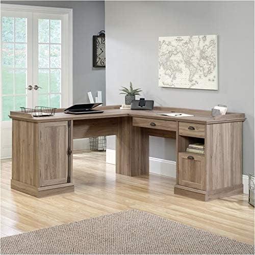 Pemberly Row Home Office L Shaped Corner Desk