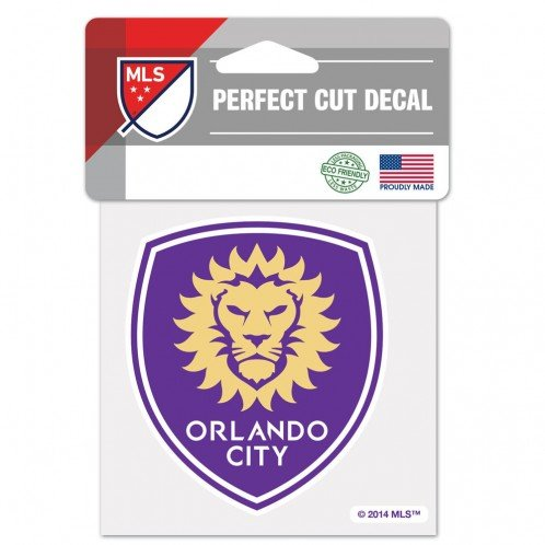 fan products of SOCCER Orlando City SC Perfect Cut Color Decal, 4