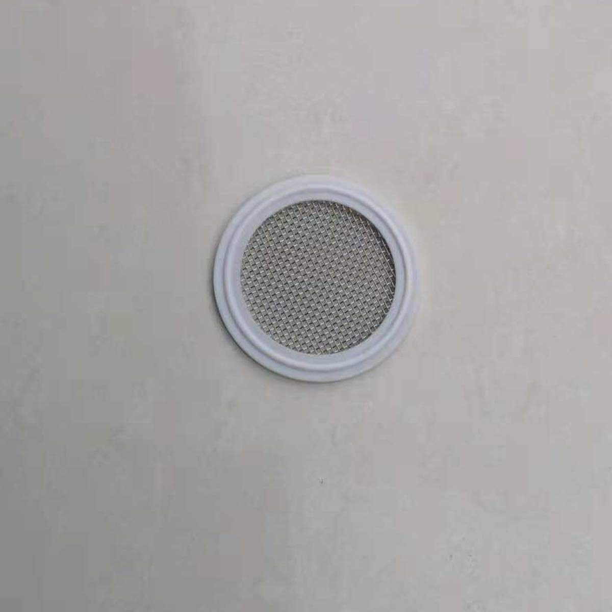 2 PTFE Sanitary Gasket with Stainless Steel Screen 16 Mesh