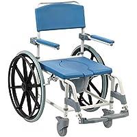 Drive Aston Dusch-/Toilettenstuhl, selbstfahrend, Toilettenstuhl, Mobilitätshilfe