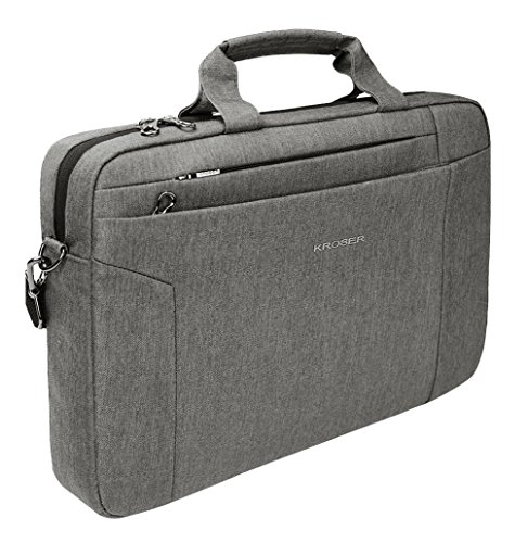 KROSER Briefcase Business Messenger Men LightGrey