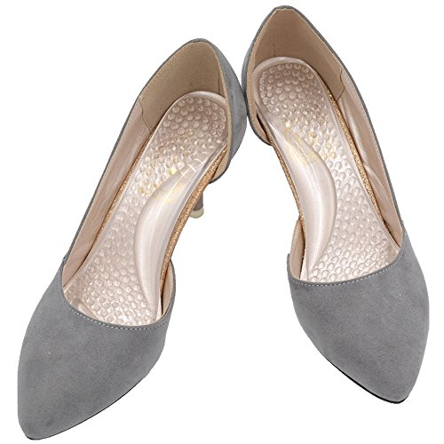 Arch Support Shoe Inserts for Women High Heels, Flat Feet, Low Arch, Plantar Fasciitis Pain Relief (Size 8 or Less) ()