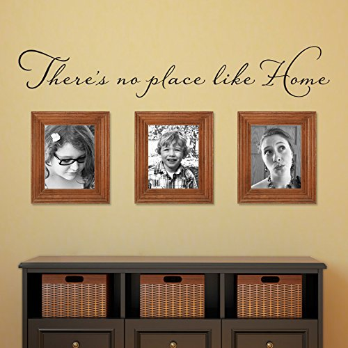 There's no place like Home Wall Decal - Wizard of Oz Quote W