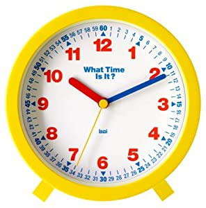 Amazon.com: Bai What-Time-Is-It Learning Clock: Home & Kitchen