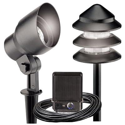 Malibu 8301-9907-08 Metal Tier Light Kit, 8-Piece