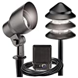 Malibu 8301-9907-08 Metal Tier Light Kit, 8-Piece