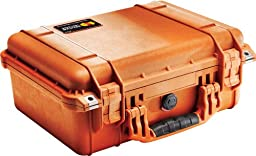 Pelican 1450 Case with Foam (Camera, Gun, Equipment, Multi-Purpose) - Orange