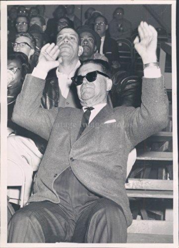 (Vintage Photos 1962 Photo Frank Lane Frantic White Sox General Manager Games)
