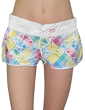 Rip Curl Puzzler 2'' Womens Casual Beach & Surf Summer Shorts 8 Multicolor