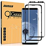 Ounier Galaxy S9 Plus Screen Protector Tempered Glass, 3D Curved Dot Matrix [Full Screen Coverage] Samsung Galaxy S9 PLUS Screen Protector (6.2'') 2018 with Installation Tray (NOT S9)