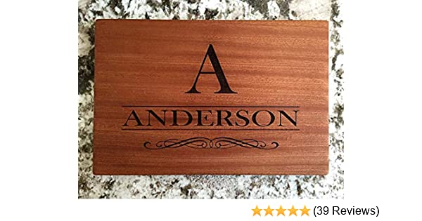 2be65b01173f Amazon.com  Personalized Gifts Couples Cutting Board - Wood Cutting ...