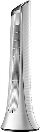 Opinión sobre FHDF Ventilador eléctrico Ventilador de Torre Ventilador de Piso de Verano Sin Hoja Hogar Control Remoto de Silencio Vertical Pequeño Cabezal de agitación Alta Potencia Blanco
