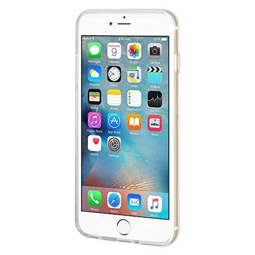 """Amzer Coque en gel souple transparent """"Voir Speak Hear No Evil Singes Coussin en TPU pour Apple iPhone 6/6S"""