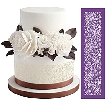 stencils for wedding cakes designer stencils c771 medium vintage lace 7702