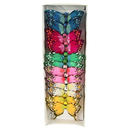 r 0165500129 12 Piece Butterfly Decor, 3