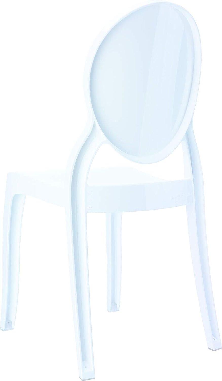 Amazon.com: Bebé Elizabeth Kids Chair – Blanco brillante ...