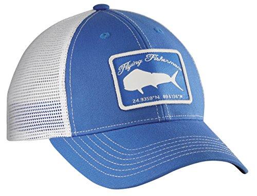 Flying Fisherman H1766 Mahi Trucker Hat Blue/White