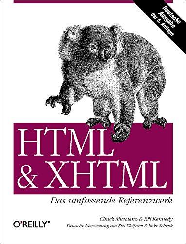 HTML & XHTML - Das umfassende Referenzwerk