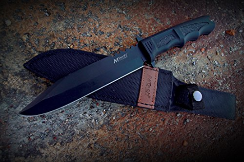 MTech-USA-MT-086-Series-Fixed-Blade-Hunting-Knife-Straight-Edge-Blade-Black-Handle-12-14-Inch-Overall