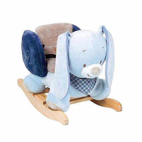 Buy Nattou 321266 Schaukeltier Baby Ab 1 Jahr Mit Gurt Plaœsh
