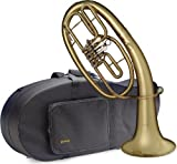 Levante LV-BH5605 Bb Professional Baritone with Soft Case - 3 Rotary Valves