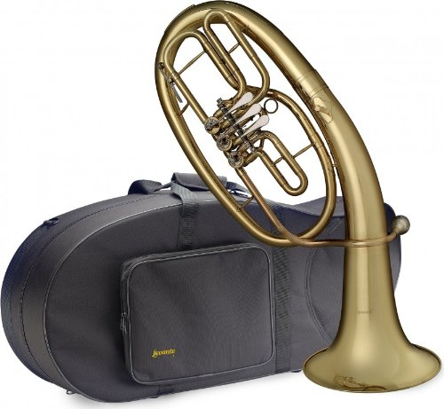 Levante LV-BH5605 Bb Professional Baritone with Soft Case - 3 Rotary Valves by Levante
