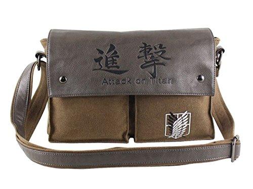 CoolChange borsa della legione esplorativa della serie Attack on Titan con logo
