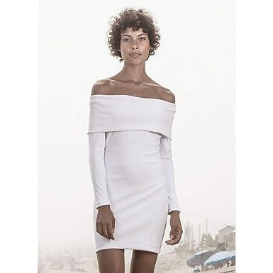 5f24588ee0 Vestido Sofia Branco-G  Amazon.com.br  Amazon Moda