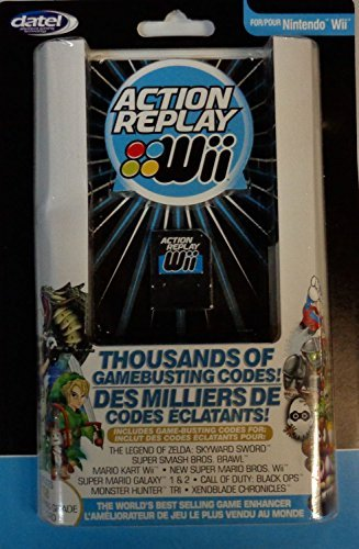 Replay Action Cheat Codes (Wii Action Replay with 1gb Gaming Grade Sd Card)