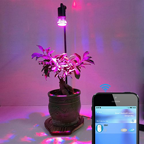 Grow Light Stand Led: 10W Automatic LED Plant Grow Light Stand Tabletop With