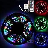Kingfansion 5M RGB 3528 300 Led SMD Flexible Light Strip Lamp+44 key IR Remote Controller