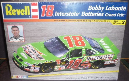 Car Batteries Interstate - Revell 1:24 Scale 18 Interstate Batteries Grand Prix Bobby Labonte Model Car
