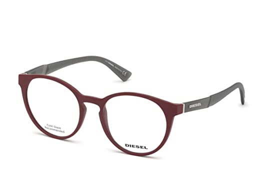 Diesel - Montures de lunettes - Homme Rouge rouge  Amazon.fr ... 6ffe136693e2
