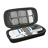 co2crea Hard Travel Case for HealthmateForever YK15AB TENS unit Electronic Pulse Massager Tennis Elbow (Size S)