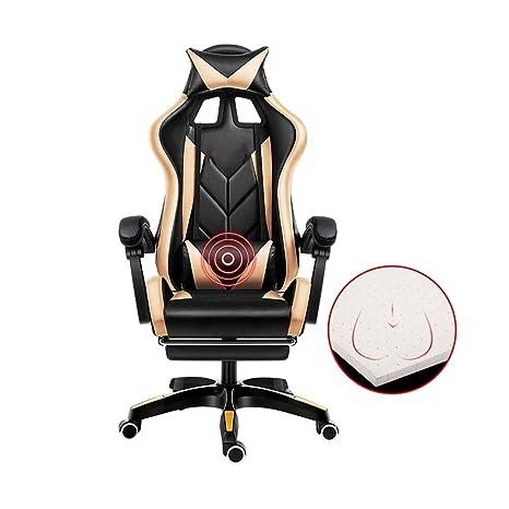 Amazon.com: Bseack Silla giratoria para juegos, silla ...