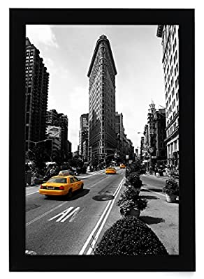 11x17 Picture Frame by Americanflat - Wall Mounting Material Included - Sleek and Contemporary Designed Frame