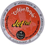 Coffee People XBold Dark Roast, Jet Fuel, 96-Count K-Cups for Keurig Brewers